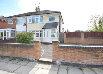 Thumbnail 3 bed semi-detached house for sale in South Station Road, Gateacre, Liverpool