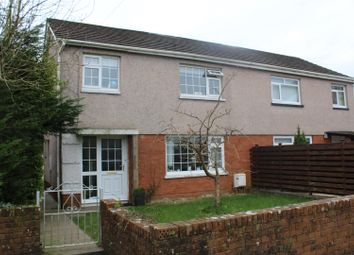Thumbnail 3 bed semi-detached house for sale in Riverway, Ammanford