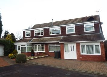 Thumbnail 5 bed property to rent in Hersham Close, Kingston Park, Newcastle Upon Tyne
