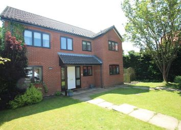 Thumbnail 4 bed detached house for sale in Quebec Close, Cringleford, Norwich