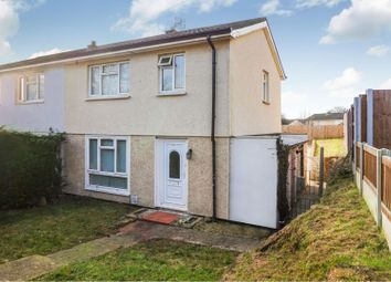 Thumbnail 3 bed semi-detached house for sale in School Lane, Wrexham