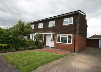 Thumbnail 3 bedroom property to rent in Romany Close, Letchworth Garden City