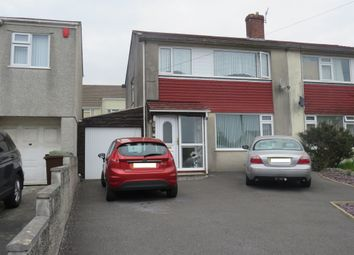 Thumbnail 3 bed semi-detached house for sale in Boringdon Close, Plympton, Plymouth