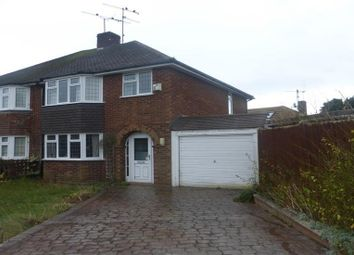 Thumbnail 3 bedroom semi-detached house to rent in Robindale Avenue, Earley, Reading