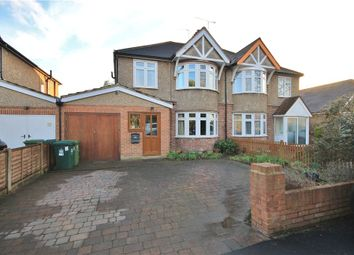 Thumbnail 4 bed semi-detached house for sale in Kingston Road, Ashford, Middlesex