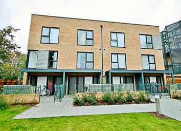 Thumbnail 3 bed terraced house to rent in Flamsteed Close, Cambridge
