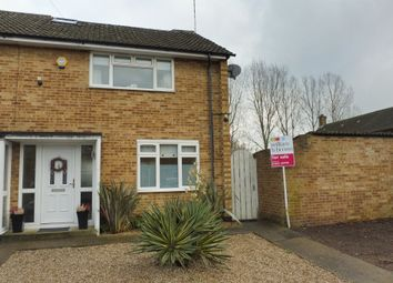 Thumbnail 3 bed end terrace house for sale in Wavell Close, Cheshunt, Waltham Cross