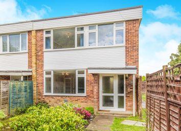 Thumbnail 3 bed end terrace house for sale in Grangewood Gardens, Fair Oak, Eastleigh
