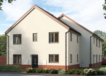 """Thumbnail 3 bed end terrace house for sale in """"The Eyrebridge"""" at East Kilbride, Glasgow"""