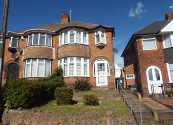 Thumbnail 3 bed semi-detached house for sale in Rocky Lane, Perry Barr, Birmingham, West Midlands