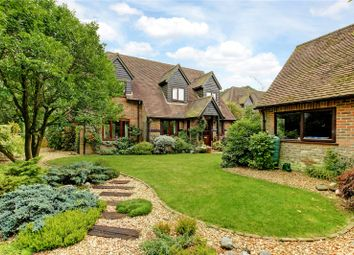 Thumbnail 4 bed detached house for sale in Woodside, Cold Ash, Thatcham, Berkshire