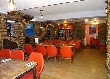 Thumbnail Restaurant/cafe for sale in Firebrand Bar & Restaurant, 5-7 Southgate Street, Launceston, Cornwall