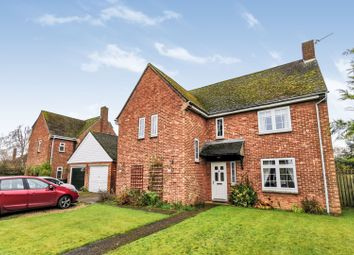 Thumbnail 4 bed detached house for sale in Satterley Close, Witham St Hughs, Lincoln