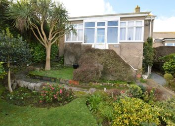 Thumbnail 2 bed detached bungalow for sale in Chywoone Hill, Newlyn, Penzance, Cornwall