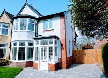 Thumbnail 4 bed semi-detached house for sale in Glebe Avenue, Forest Hall, Newcastle