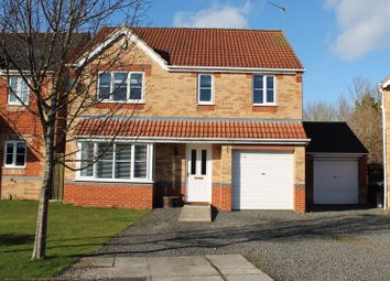 Thumbnail 4 bed detached house for sale in Willowbrook Close, Bedlington