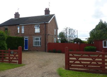 Thumbnail 2 bed semi-detached house for sale in French Drove, Thorney, Peterborough