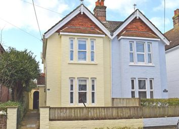 Thumbnail 3 bed semi-detached house for sale in 24 Foreland Road, Bembridge, Isle Of Wight