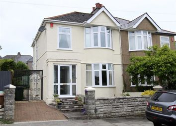 Thumbnail 3 bedroom semi-detached house for sale in Brynmoor Park, Plymouth
