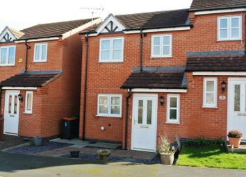 Thumbnail 3 bed semi-detached house for sale in Leander Close, Sutton-In-Ashfield