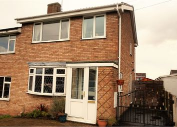 Thumbnail 3 bed semi-detached house for sale in Linden Avenue, Tuxford