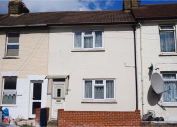Thumbnail 2 bed terraced house for sale in Luton Road, Chatham