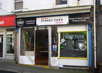 Thumbnail Restaurant/cafe for sale in Tregenna Place, St. Ives