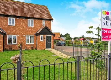 Thumbnail 2 bedroom semi-detached house for sale in Chopyngs Dole Close, Sprowston, Norwich