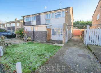 Thumbnail 3 bed semi-detached house for sale in Crawford Close, Billericay