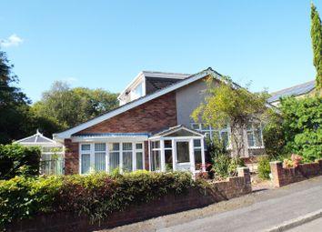Thumbnail 4 bed detached bungalow for sale in 10 Highview Gardens, Derwen Fawr, Swansea