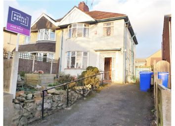 Thumbnail 3 bed semi-detached house for sale in High Lane, Stoke-On-Trent