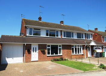 Thumbnail 3 bed semi-detached house for sale in Cartmel Drive, Dunstable