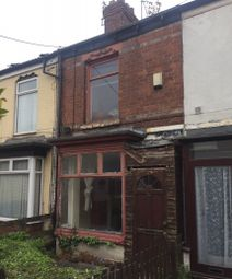 Thumbnail 2 bedroom terraced house for sale in Montrose Street, Carisbrooke Avenue, Hull, North Humberside