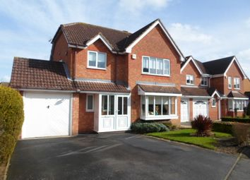 Thumbnail 4 bedroom detached house for sale in Mount Pleasant, Oadby, Leicester