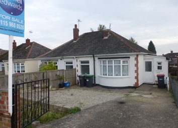 Thumbnail 1 bedroom semi-detached bungalow for sale in Common Lane, Hucknall, Nottingham