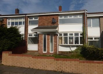 Thumbnail 3 bed terraced house to rent in Eriskay Walk, Hartlepool