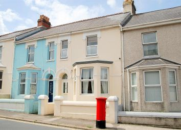 Thumbnail 2 bedroom terraced house for sale in Cattedown Road, Plymouth