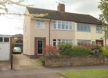 Thumbnail 3 bed semi-detached house for sale in Lea Road, Dronfield, Derbyshire