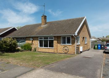 Thumbnail 2 bed semi-detached bungalow for sale in Homefield Avenue, Lowestoft