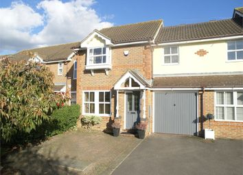 Thumbnail 3 bed terraced house for sale in Hillier Place, Chessington
