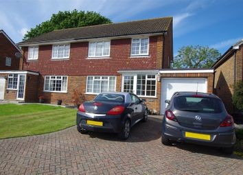 Thumbnail 3 bed semi-detached house for sale in Hayes Close, Ringmer, Lewes