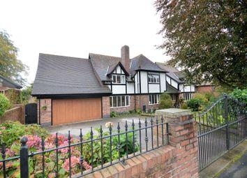 Thumbnail 5 bed detached house for sale in Lyons Lane, Appleton, Warrington