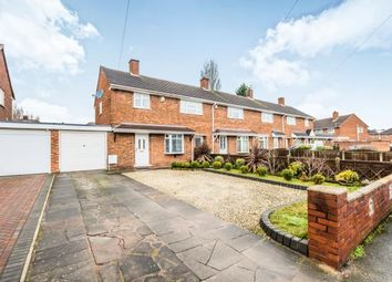 Thumbnail 3 bed end terrace house for sale in Tildesley Drive, Willenhall, West Midlands