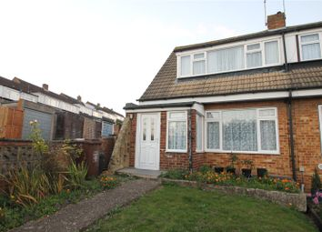 Thumbnail 2 bed semi-detached house for sale in Ranscombe Close, Strood, Kent