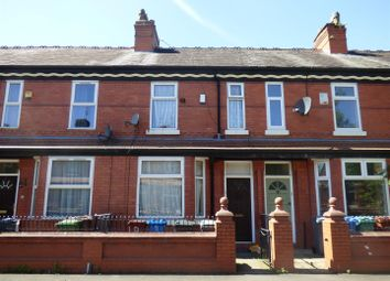 Thumbnail 3 bed terraced house to rent in Regent Avenue, Manchester