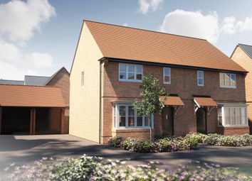 "Thumbnail 3 bed detached house for sale in ""The Yarkhill Sp"" at Winchester Road, Boorley Green, Botley"