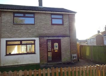 Thumbnail 3 bed semi-detached house for sale in Heathfield Walk, Corby, Northamptonshire
