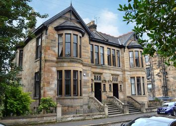 Thumbnail 4 bed flat for sale in Lorraine Road, Glasgow