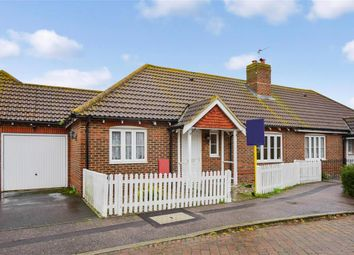 Thumbnail 2 bed semi-detached bungalow for sale in Sharfleet Crescent, Iwade, Sittingbourne, Kent