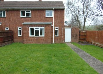 Thumbnail 2 bed semi-detached house to rent in Torridge Road, Chivenor, Barnstaple